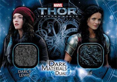 Sif Costume (Thor Dark World DMD-15 Costume Memorabilia Card Darcy Lewis &)