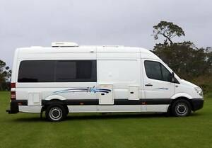 2010 Mercedes Wallaby Automatic Motorhome with Shower & Toilet Albion Park Rail Shellharbour Area Preview