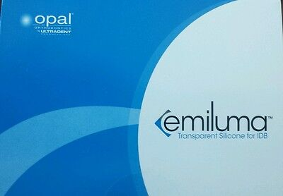 Emiluma Transparent Silicone Indirect Bonding Opal Orthodontics Dental Ultradent