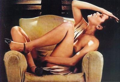 SYLVIA KRISTEL: 1  Foto (20x30cm)  des Erotikstars (EMANUELLE); Nude; Busen -g8-