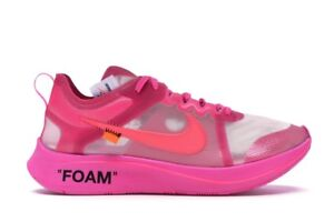 Nike Zoom Fly Off-White pink men's US 8