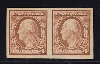 346 Pair XF original gum mint never hinged with nice color cv $ 55 ! see pic !