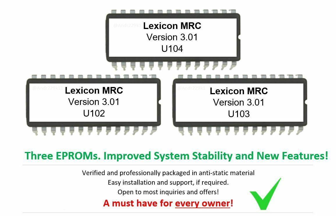 V2.11 LEXICON MPX R1 LATEST OS FIRMWARE UPGRADE
