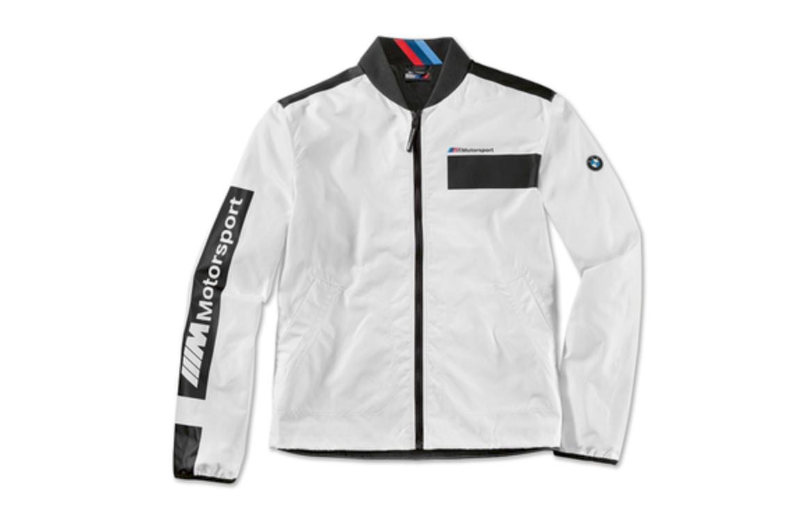Original BMW Motorsport Jacke Herren Gr.L Stehkragen schwarz/weiß UPE: 110,00 €