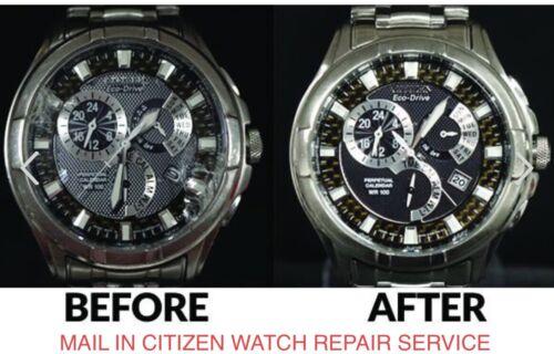 CITIZEN WATCH BROKEN CRACKED GLASS CRYSTAL REPAIR REPLACEMENT SERVICE