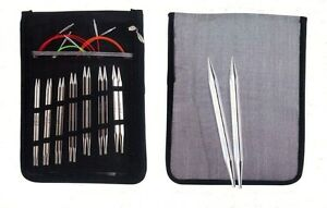 Knitpro Nova Cubics Deluxe Interchangeable Circular Knitting Needle Set