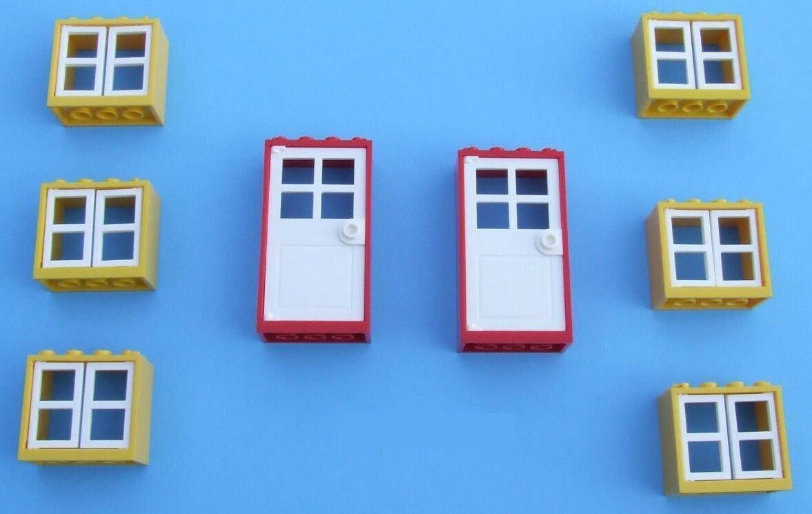 ☀️NEW LEGO City White Fence w// Flowers Belville House Garden Girl Minifigure #5