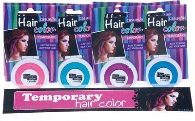 Casuelle Color HAARKREIDE mit Schwamm zum Auftragen Haarfarbe - Lila Auswaschbare Farbe