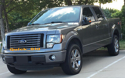 FENDER FLARES FACTORY STYLE fit 2010-2014 FORD F150 XLT STX PICK UP - NO DRILL
