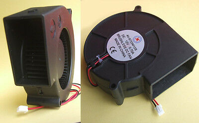 4PCS DC fans 97MM x 97MM X 33MM Turbine Brushless Cooling Blower 12V Fan 9733 (12v Dc-fans)