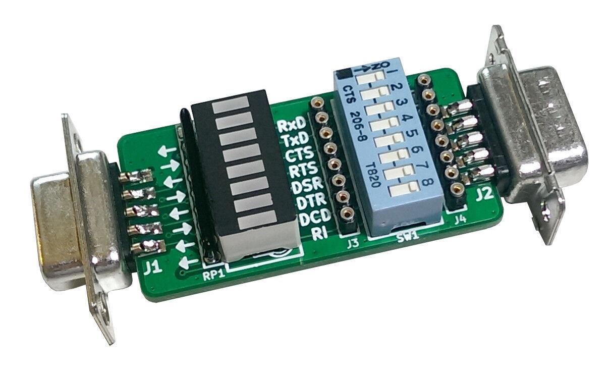 Gglabs T232 Kit Rs232 Signal Breakout And Monitor Db9m Db9f Diy St3000dm001 Hdd Pcb Hard Drive Circuit Board No 100664987 Rev A Ebay 2