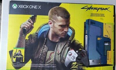 Xbox One X Cyberpunk 2077 Limited Edition 1TB Console Bundle - NEW IN HAND!🔥🔥