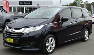 2014 Honda Odyssey RC VTi Black Continuous Variable Wagon South Nowra Nowra-Bomaderry Preview