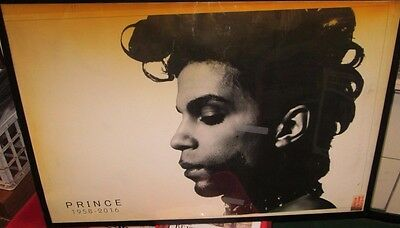 PRINCE POSTER LIVE NEW NEVER OPENED 2017 RECENTLY DISCONTINUED