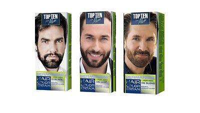 Best Effective Men Permanent Colour Cream for Hair, Beard, Moustache Easy to