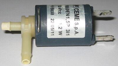 Used Keurig 12v Pneumatic Solenoid Plastic Valve - 4 Psi - 18 Npt Ceme 5000en1