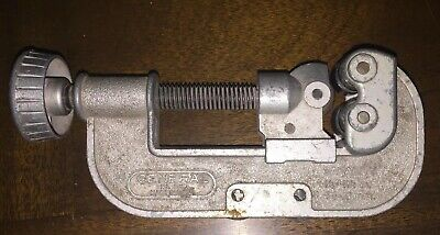 General No 125 Tubing Pipe Cutter 14 To 1 12 Capacity O.d. Plumbing Tool Usa