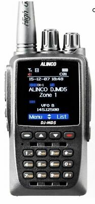 Alinco DJ-MD5 GPS Dualband DMR Analogue Transceiver