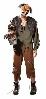 Scary Gothic Costumes (Jack Adult Zombie Costume Goth Scary Horror Jill Medium Fits Chest 38-40