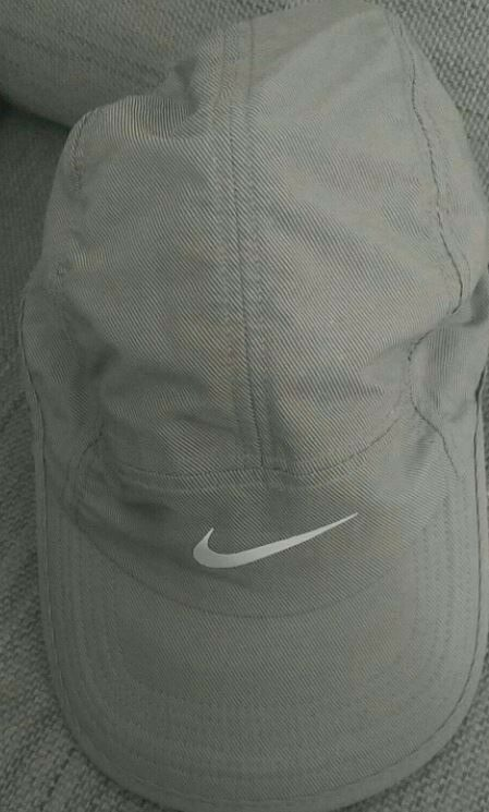 42460f96966 URGENT. NEW. NEVER USED. Nike Run AW84 Cap - Grey Reflective ...
