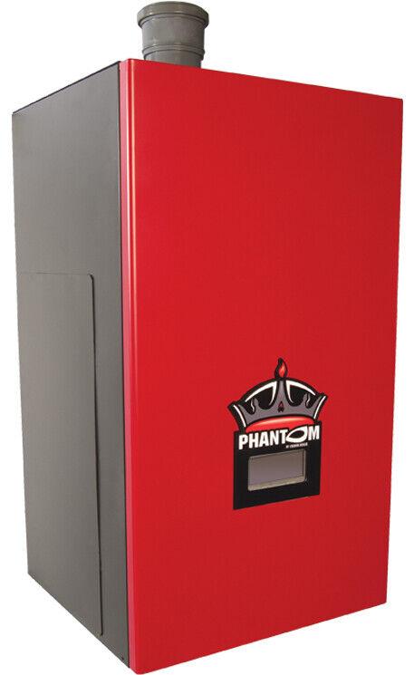 Crown Phantom 120K Nat Gas Hot Water Boiler Stainless Steel