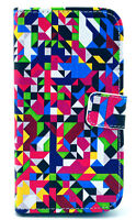 Samsung Galaxy S4 Colorful Design Leather Flip Cover Case