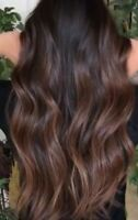 Hair Extensions Fusion and weft780-240-3660