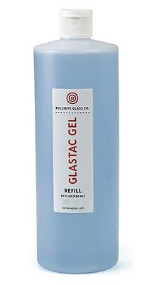Bullseye GlasTac BLUE GEL Fusing Glue - 32 oz. - For Kiln Firing Glas-Tac