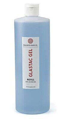 Bullseye GlasTac BLUE GEL Fusing Glue - 32 oz. - For Kiln Firing Glas-Tac
