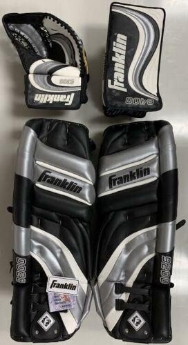 "New Franklin THT Pro 9200 33"" goalie pads blocker catcher set 8400 8300 glove sr"