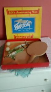 Vintage Bentley table tennis set.
