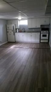 Basement 1 bedroom apartment for rent St.Catharines!