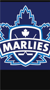 MARLIES playoff tickets game 3 section 117