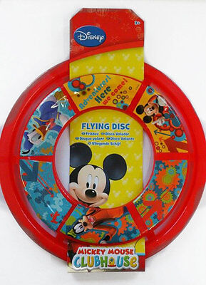 DISNEY MICKEY MOUSE CLUBHOUSE FLYING DISC FRISBEE GAMES FUN BIRTHDAY GIFT  - Mickey Mouse Birthday Games