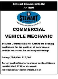Commercial vehicle mechanic