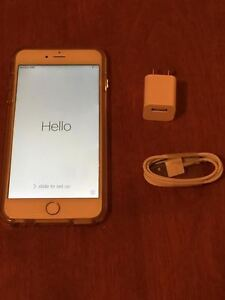 Iphone 6 plus 64GB Rogers Blanc et Or ( négo )