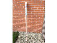 Dunelm Mill Wooden Curtain Pole - beech effect - £5
