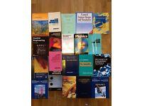 Mechanical Engineering text books bundle - from Mech Eng degree ccourse