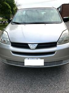 parting out the 2005 Toyota Sienna CE 2WD Automatic for PARTS!!