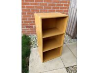 Short book case - Oak effect - £15