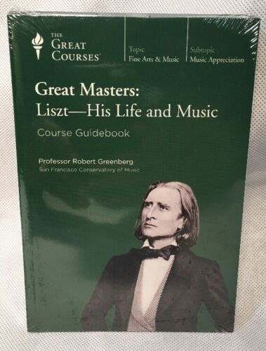 The Great Courses-DVD & Book Set- Great Masters: Liszt - His Life And Music