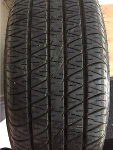 Dunlop P205/65R15 92H with brand new rim