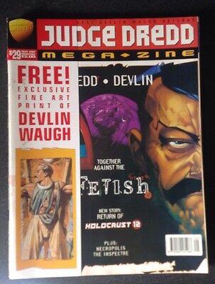 Judge Dredd Megazine Issue 29 May 1997 Fleetway Comics