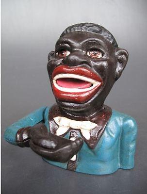 Spardose Mechanisch Figur Jolly Weihnachten Sammler Geschenk Vintage Deko