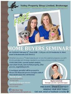 FREE Home Buyer Seminar Feb. 21st