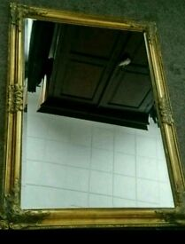 beautiful gold mirror