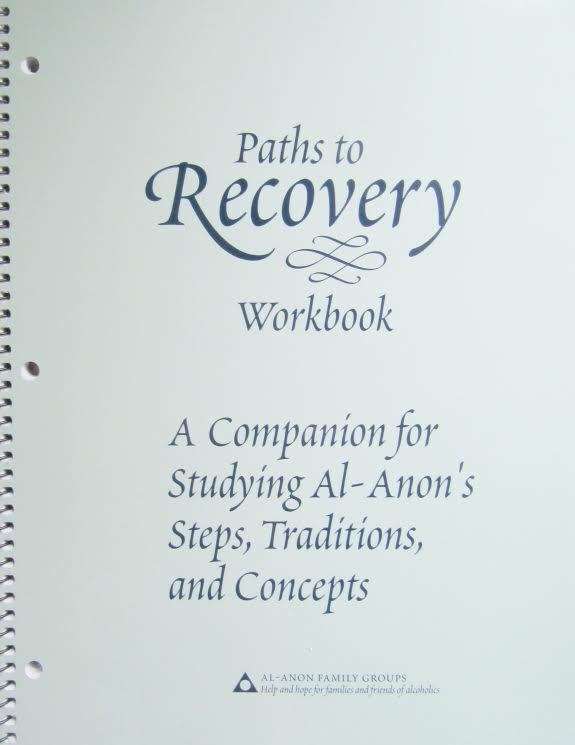 Paths to Recovery Workbook Spiral-bound –2017 by Al-Anon Family Groups BRAND NEW