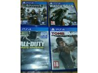 Job lot of Ps4 games for sale