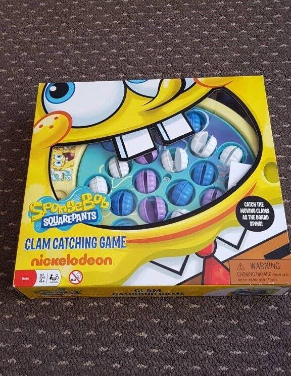 Spongebob Squarepants Clam Catching Game