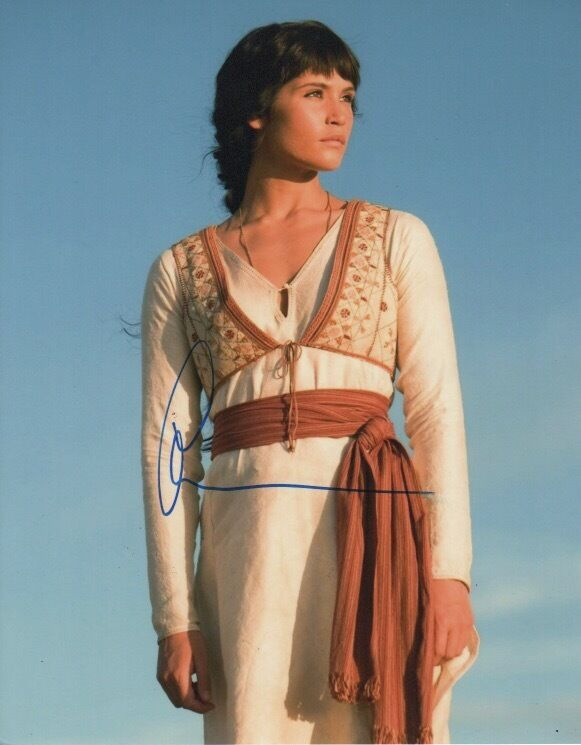Gemma Arterton Prince of Persia Autographed Signed 8x10 Photo COA #14